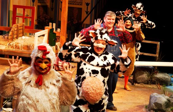 """Click Clack Moo: Cows That Type"" at First Stage Children's Theatre, 2005"