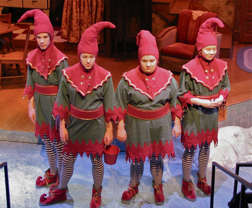 """A Christmas Story"" at First Stage Children's Theatre, 2006"
