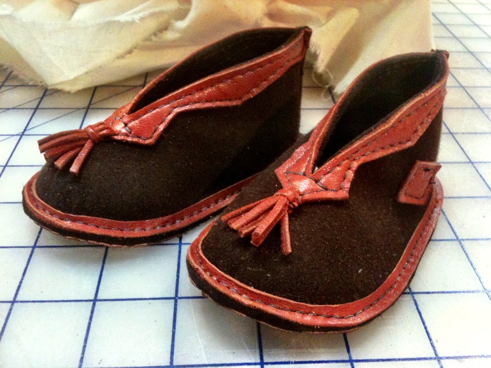 Handmade baby shoes, 2012