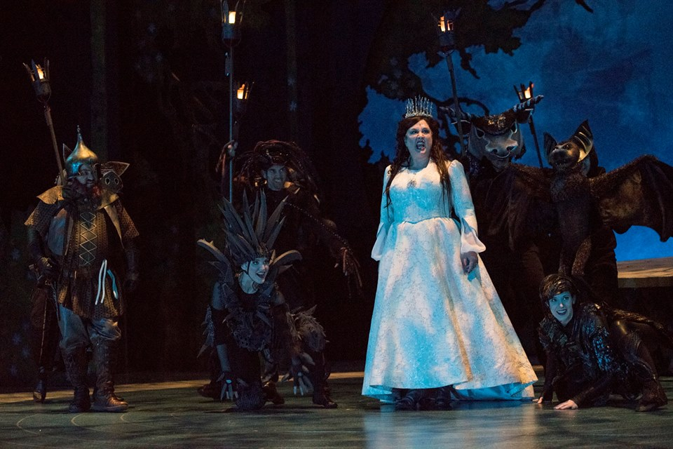 """The Lion, the Witch, and the Wardrobe"" at Seattle Children's Theatre, 2016"
