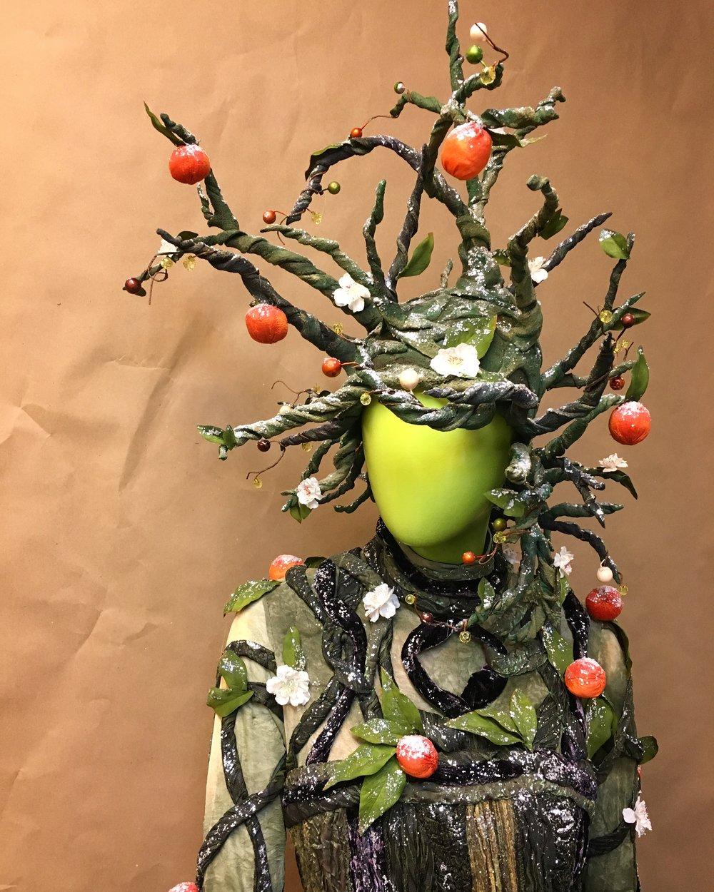 Tree headdress, 2016