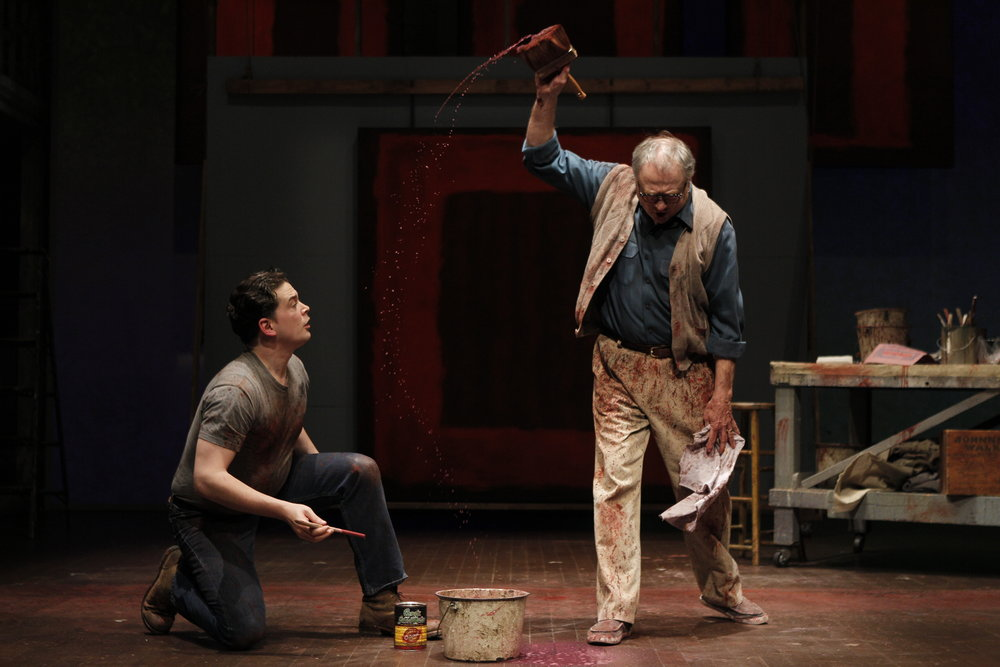 """Red"" at Seattle Repertory Theatre, 2012"