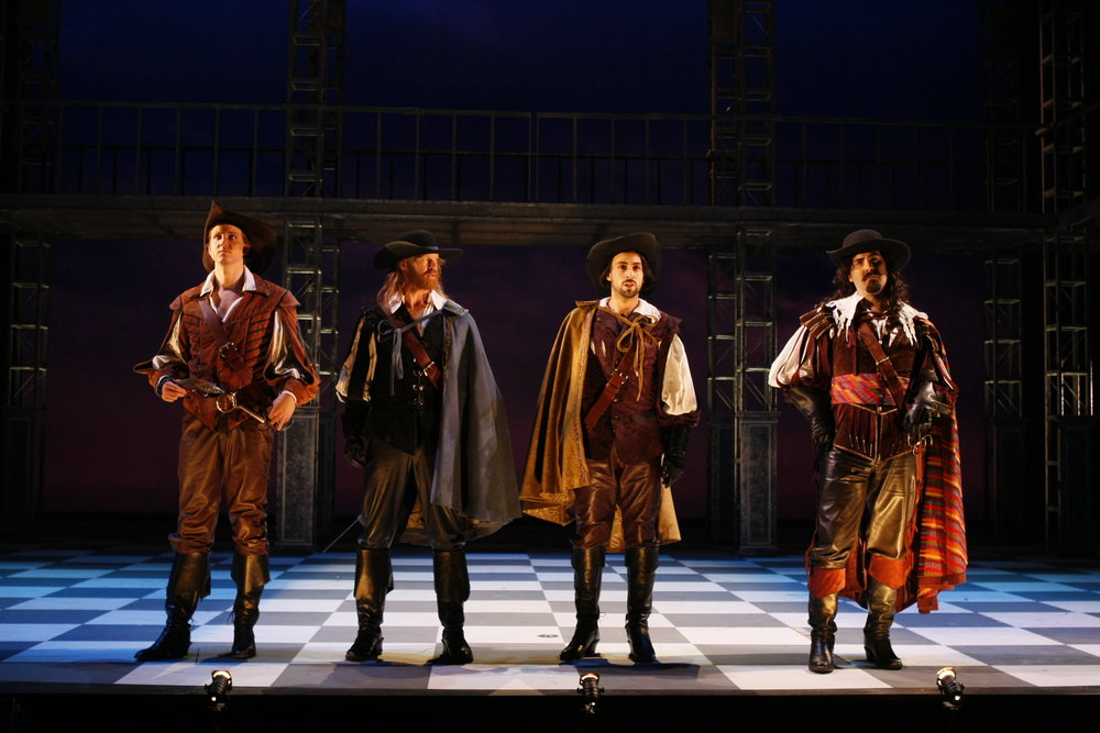 """The Three Musketeers"" at Seattle Repertory Theatre, 2008"