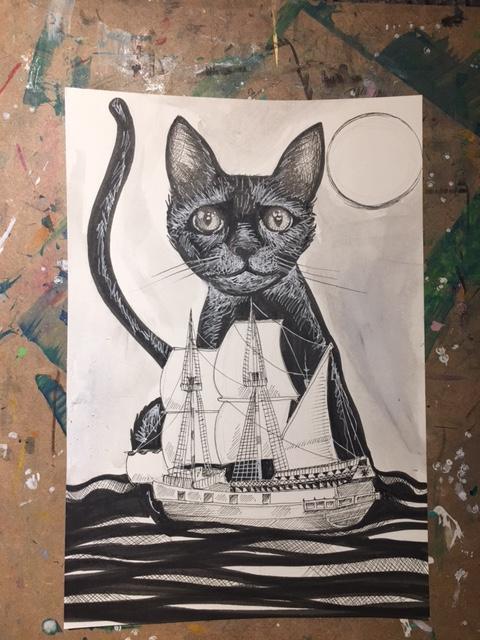 Cat Ship