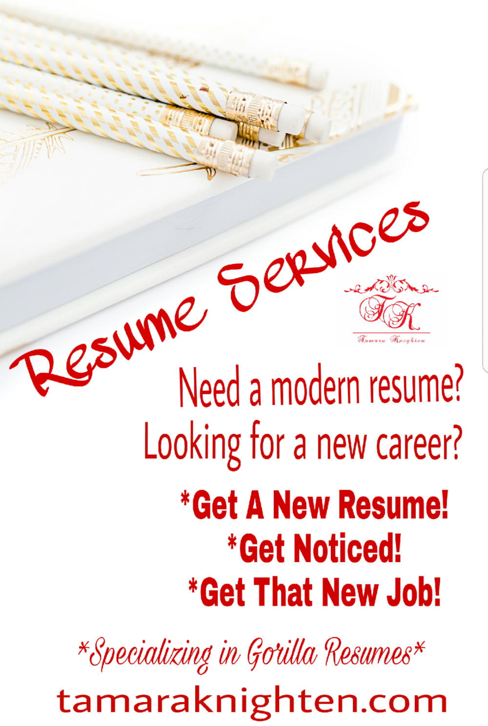 - Is your resume outdated?  You need the latest and greatest Gorilla Resume to GET NOTICED and GET THAT JOB!!!!  Submit your payment by clicking the
