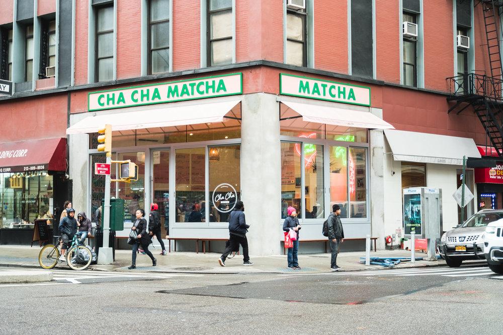 CHACHA MATCHA -