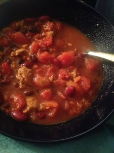 30 Minute Delicious Vegan Chili: Collectively Caitlin www.collectivelycaitlin.com