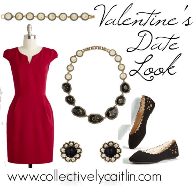 Valentine's Date Look: Collectively Caitlin: www.collectivelycaitlin.com