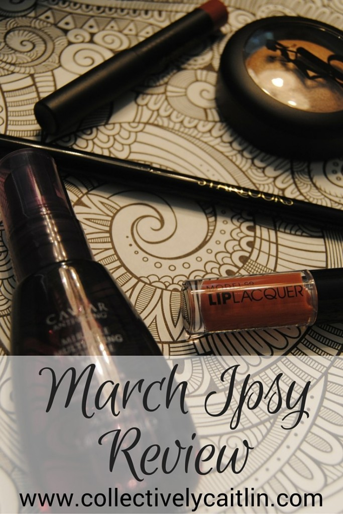 March Ipsy Glam Bag Review: Collectively Caitlin www.collectivelycaitlin.com