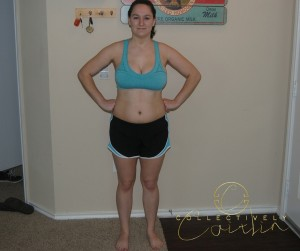 My Before Pictures: Day 1 of the Beach Body Challenge: Collectively Caitlin www.collectivelycaitlin.com