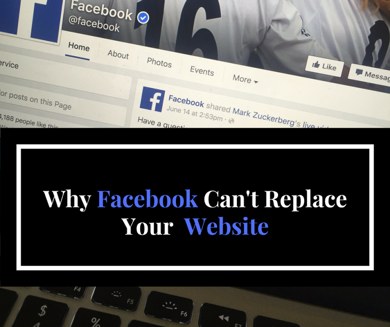 Why Your Business Needs A Website - Not Just A Facebook Page - Tuesday's Together
