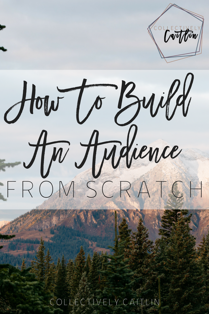 How To Build An Audience From Scratch - Business Coach - Collectively Caitlin