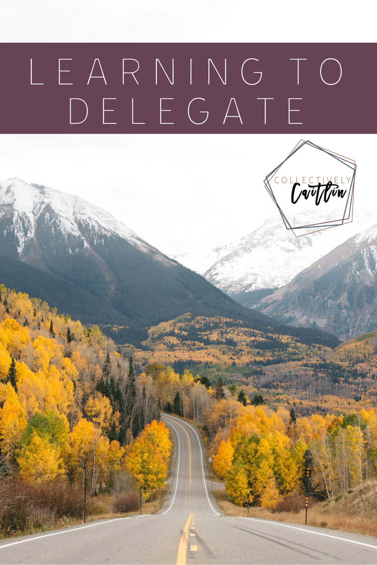 Learning To Delegate - Productivity Coach For Creative Entrepreneurs - Business Coach - Collectively Caitlin