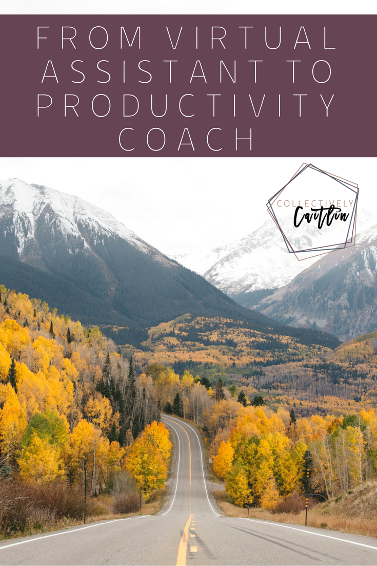 From Virtual Assistant to Productivity Coach - Business Coach For Creative Entrepreneurs - Collectively Caitlin