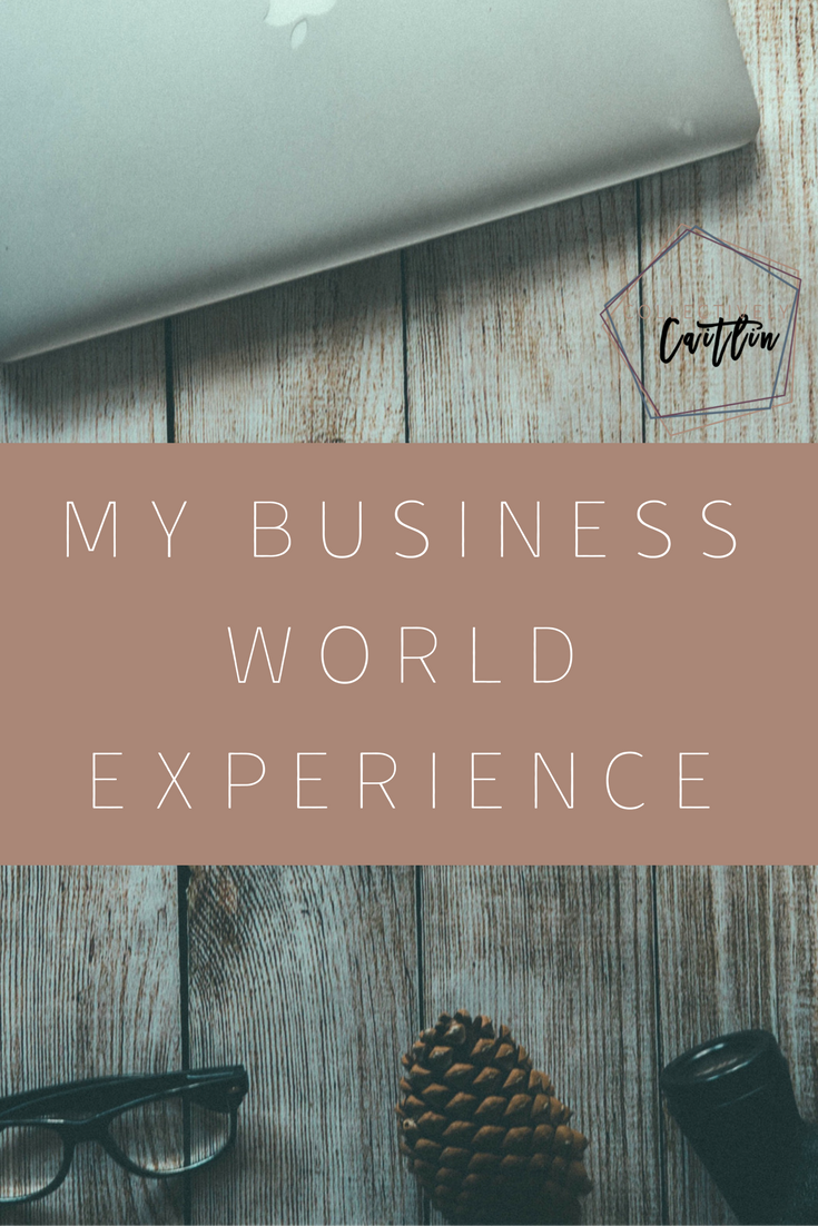 My Business World Experience - Tuesday's Together - Business Coach For Creative Entrepreneurs - Collectively Caitlin