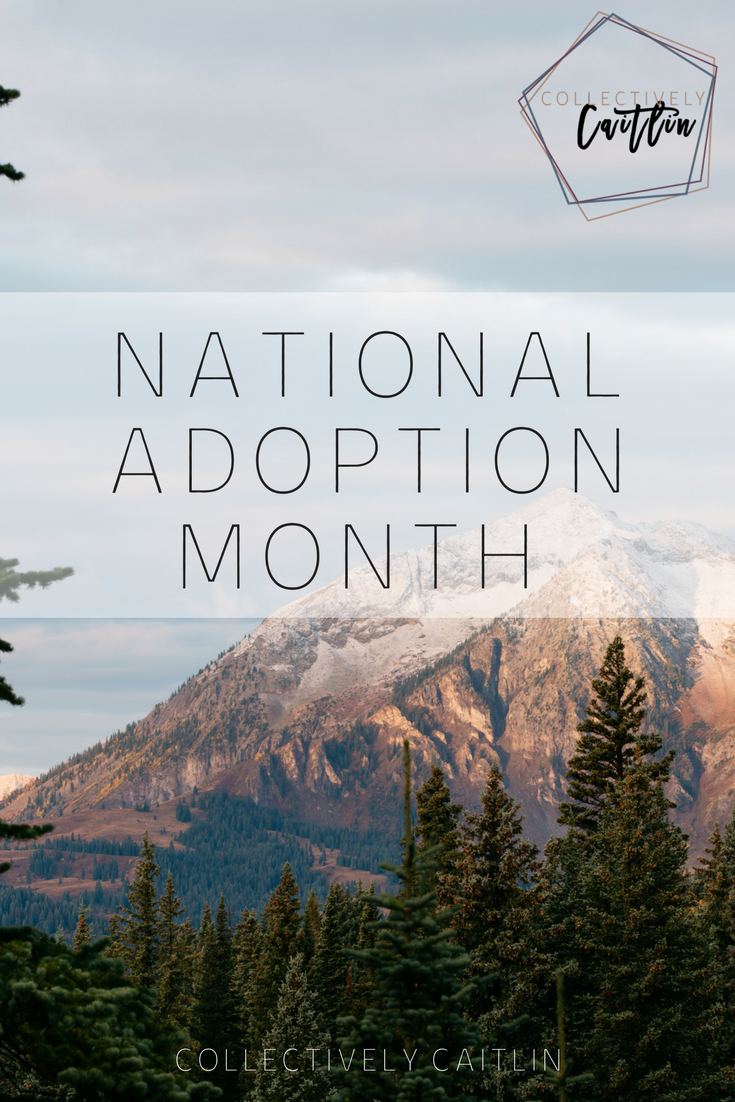 National Adoption Month - Collectively Caitlin - Business Coach For Creative Entrepreneurs