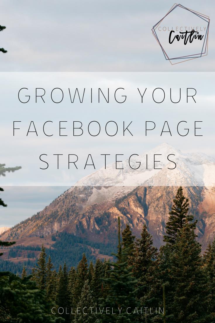 Facebook Page Strategies