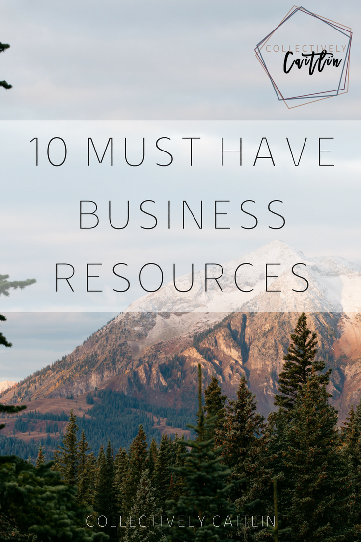 Business Resources - Collectively Caitlin