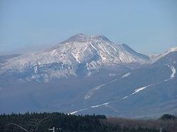 事務所からの眺め(那須連峰)