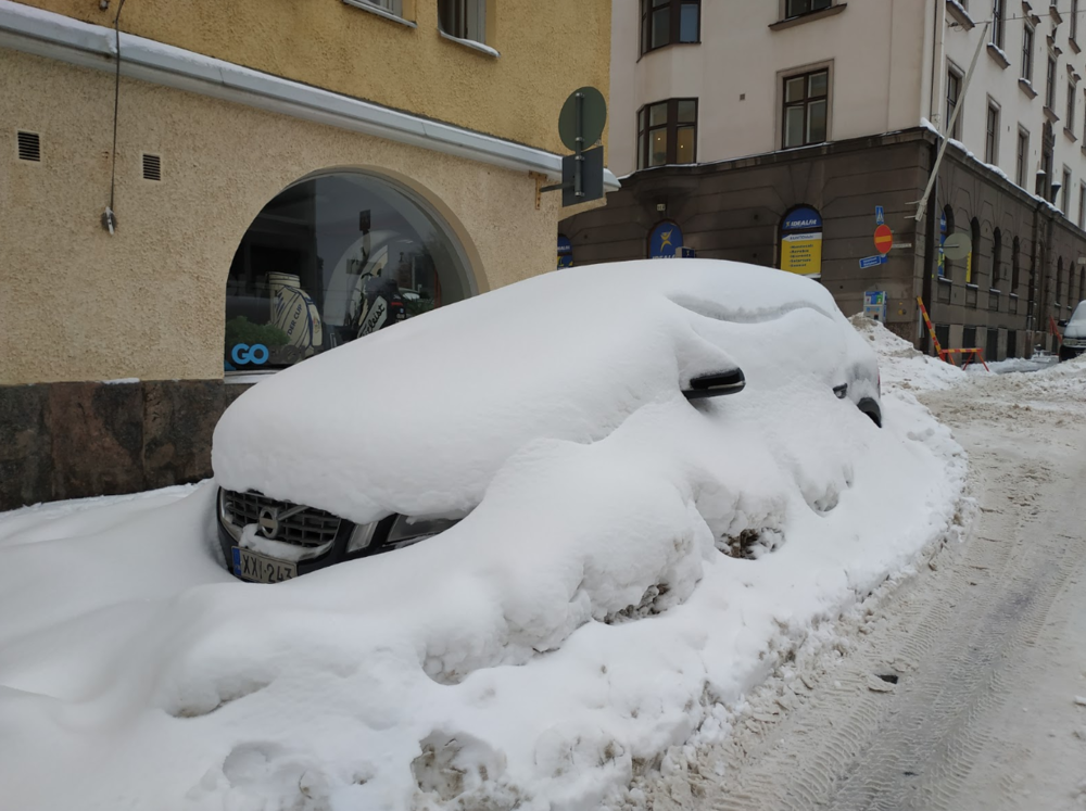 Uh-oh! The daily commute can take a bit longer with abundant snowfall.