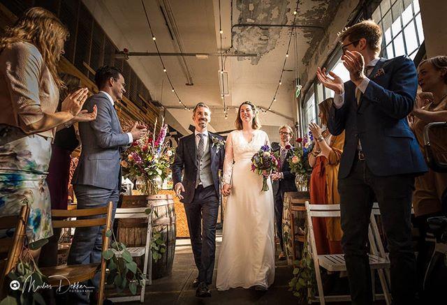 Ruim een maand geleden vierde we de liefde in zaak.acht!  Foto door: @marliesdekkerfotografie . . #vierdeliefde #zaakachtrotterdam #zaakacht #fenixfoodfactory #bruiloft #weddingphotography