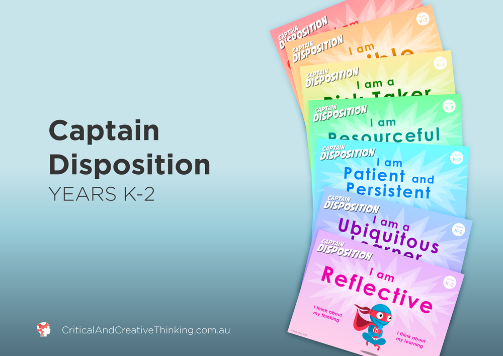 Captain Disposition Year K - 2 Foundation