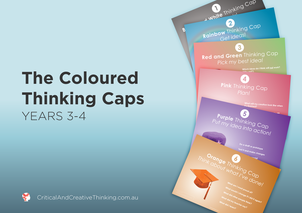 CCT coloured thinking caps year 3 - 4