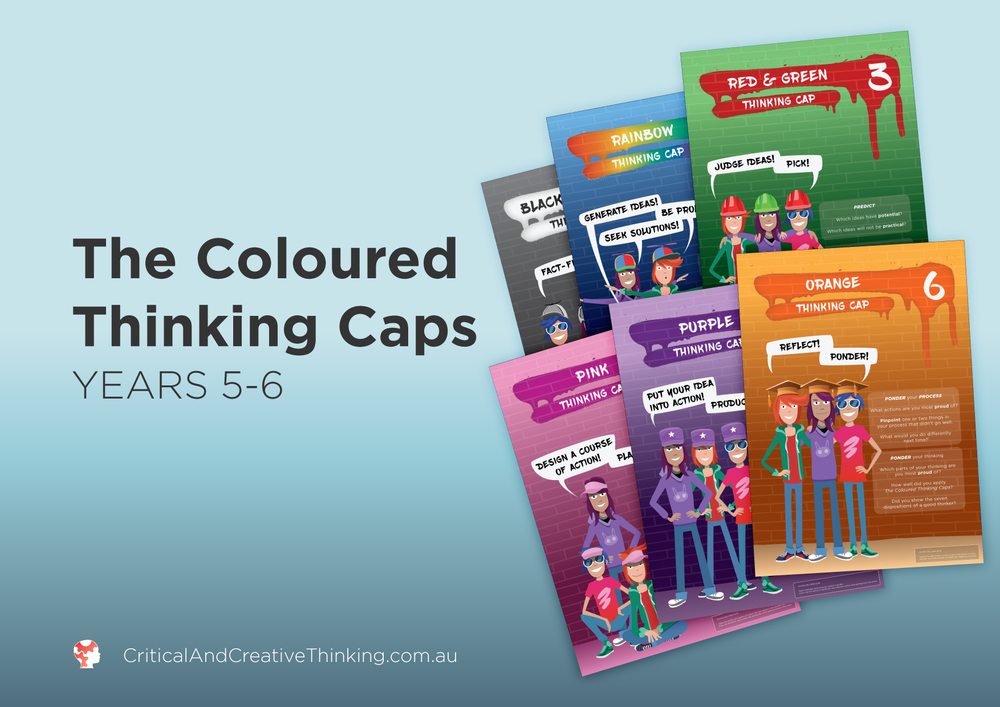CCT coloured thinking caps year 5 - 6