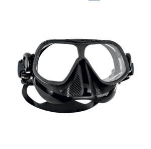 Scubapro Steel Comp Mask @ S$105    Low volume. Flexible mask that bends in half. Popular model. Extremely low volume fantastic for depth. Asian & European fit.