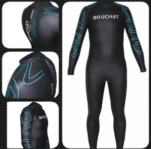 Zento Wetsuit (2mm)  @S$295    Similar to the Apnea Backpack but with an additional large compartment with side straps for spearguns. Great for those short freediving trips  Note: Has a top strap to keep the bag compact