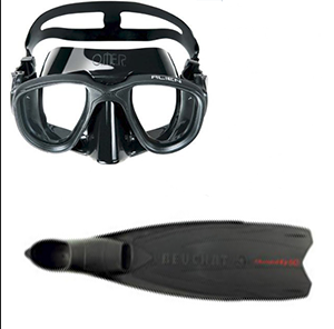 Freediving Beginner Starter Pack @ S$150  Beuchat Mundial One 50 Omer Alien Mask If you're looking to start freediving but are unsure on what gear to get, this is the starter pack for you.