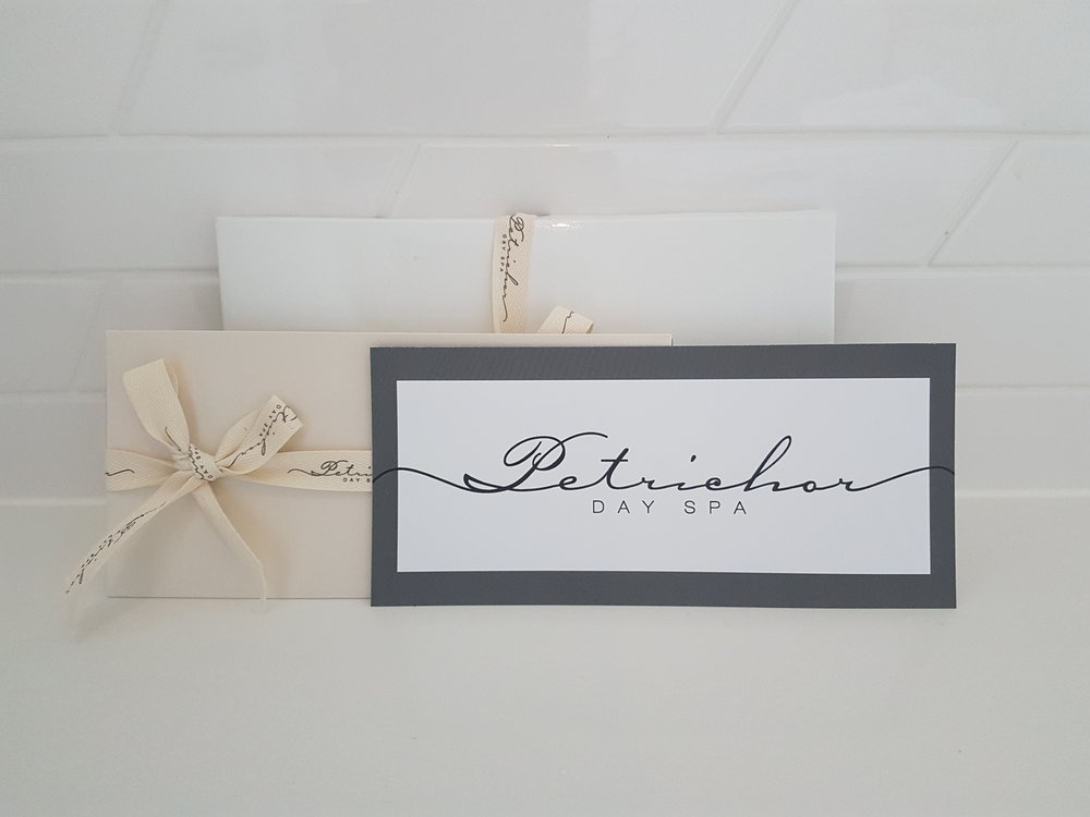 Gift Vouchers By Mail Petrichor Day Spa