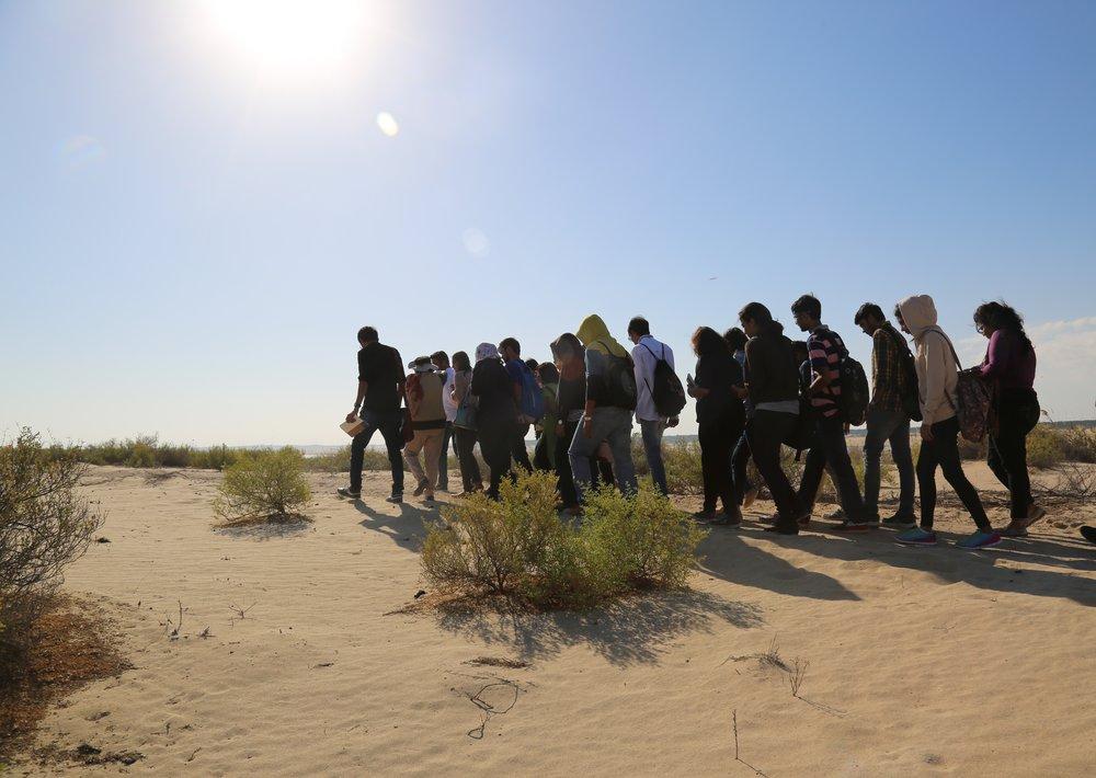 4 Abu Dhabi - walk in the desert santuary_Pic Bhargav Adhvaryu.JPG