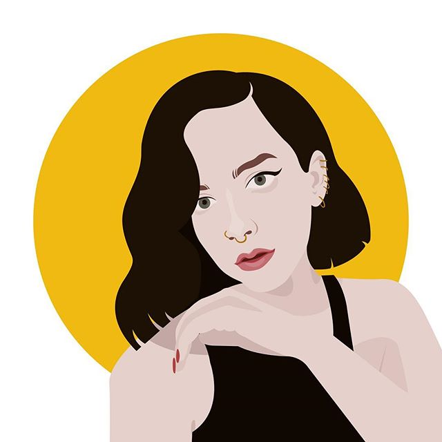 My first female portrait in 2019. . #illustration #illustrator #polishillustrator #worldwideillustration #dailyillustration #illustrationdaily #blog #blogger #fashion #portrait #face #pretty #girl #digitalillustration #vector #vectorillustration #illustrationoftheday #vectorgraphic #computerart #woman #jess #sunbeamsjess @sunbeamsjess