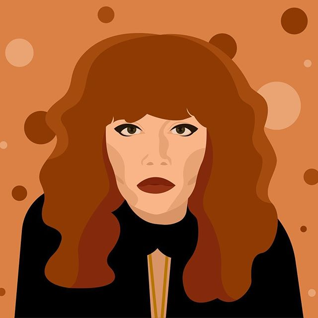 I just couldn't resist. . #russiandoll #netflix @nlyonne #natashalyonne #series #fanart #illustration #weeklyillustration #illustrator #polishillustrator #female #womanillustrator #womenillustration #womenofillustration #computerart #vectorart #digitalart #worldwideillustration #vector #actress #nadia