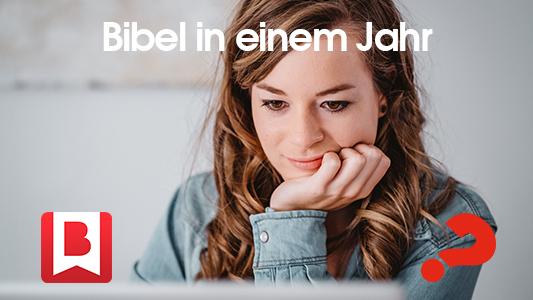 Starte deinen Tag mit einer Biblestelle und einem lebensnahmem Input von Nicky und Pippa Gumbel -
