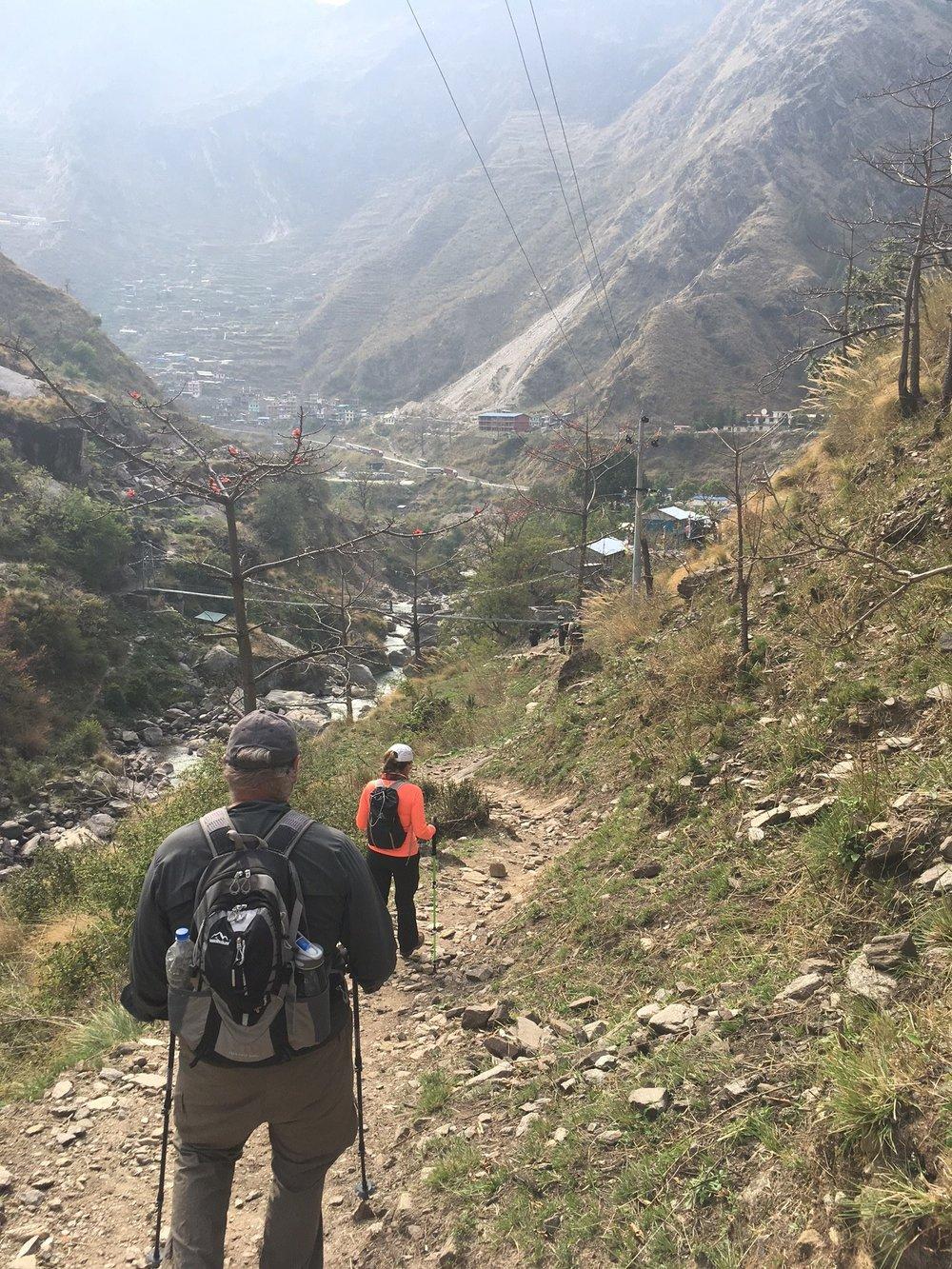 Entering Sabru Besi.