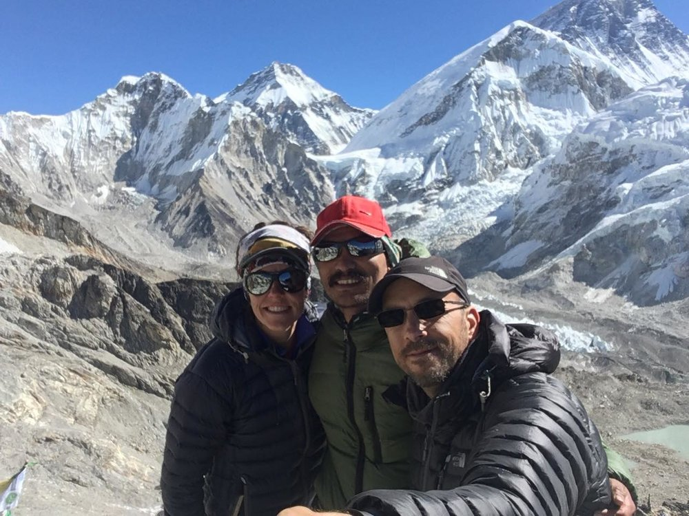 Before heading to climb Lobuche, our teams head to Everest Base Camp to acclimatize.