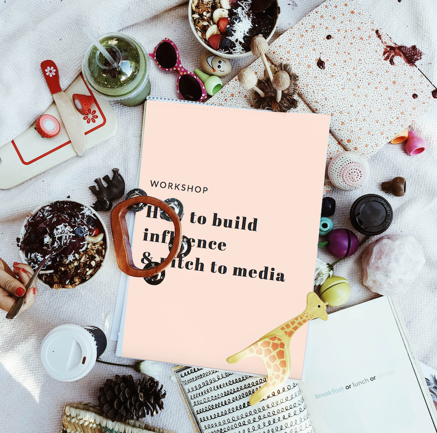 PR 101 Workshop - Straight from our sold-out workshops in Sydney & Melbourne, the 'How to Build Influence & Pitch to Media' online course is now available!DETAILS HERE