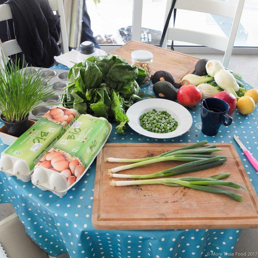 Workshop gezonde lunchboxen: eimuffins en venkelsalade met macadamianoten