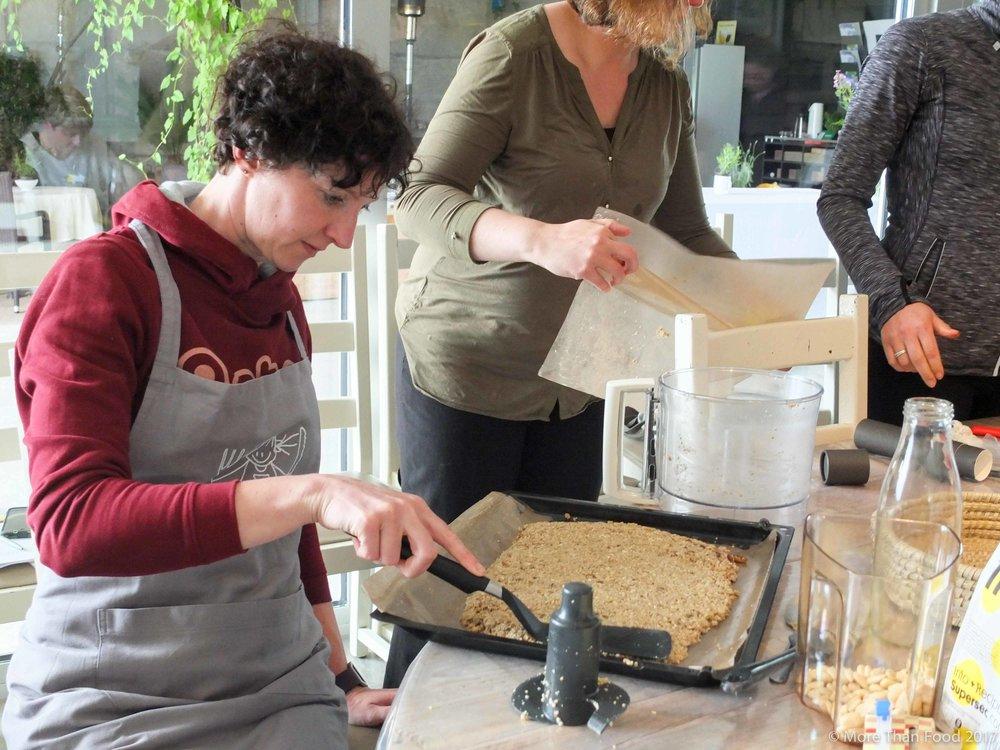 Zoete workshop: energierepen zonder gluten, zuivel of suiker maar mét energie.