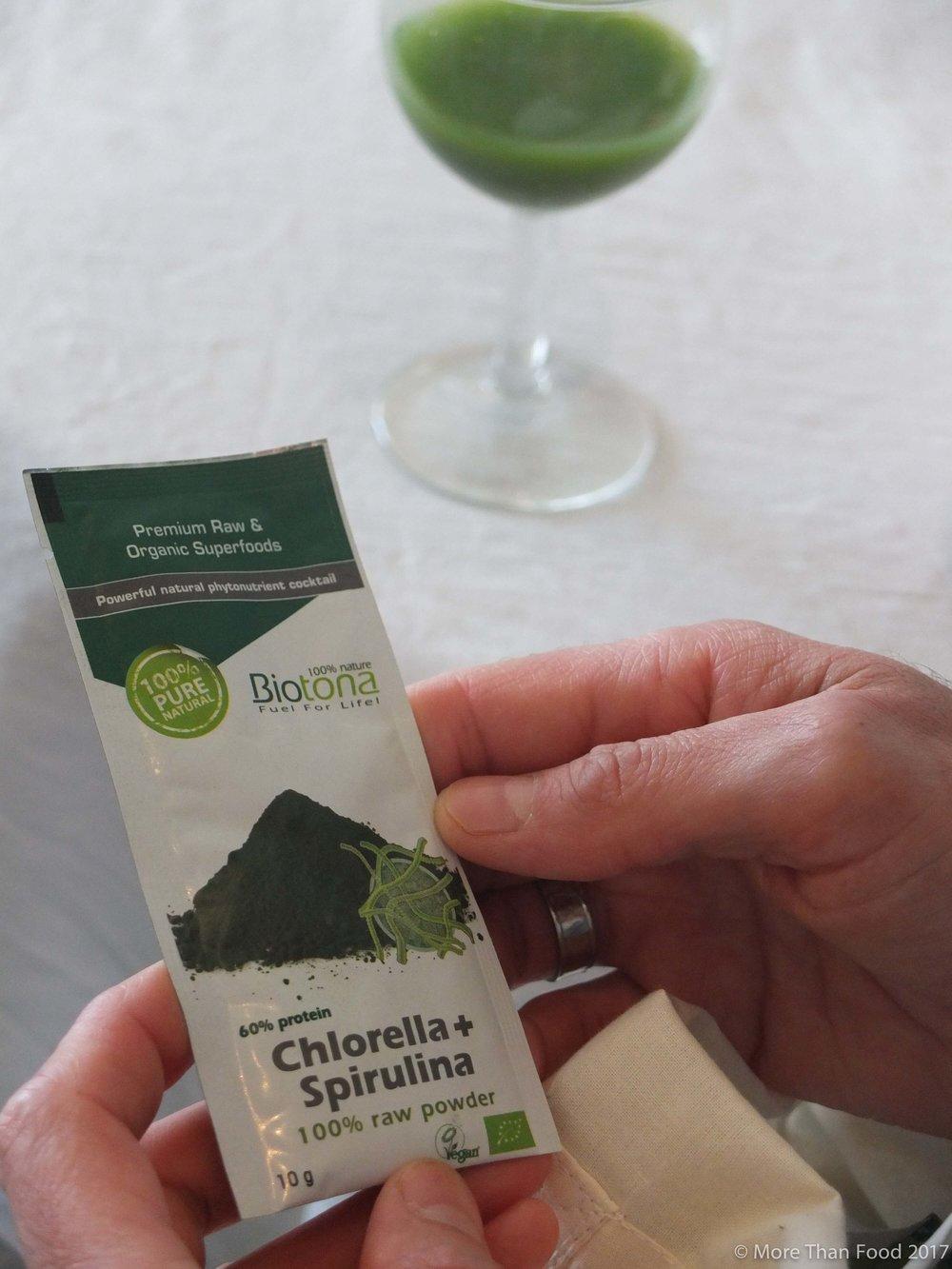 Groen, groener, groenst: superfood sapje.