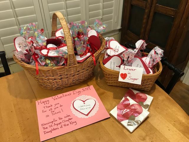 Baskets of Valentine's Day Cookies.jpg