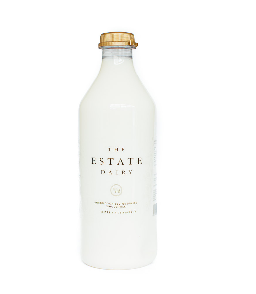 Whole Milk / Retail   Unhomogenised Jersey and Guernsey 1 Litre