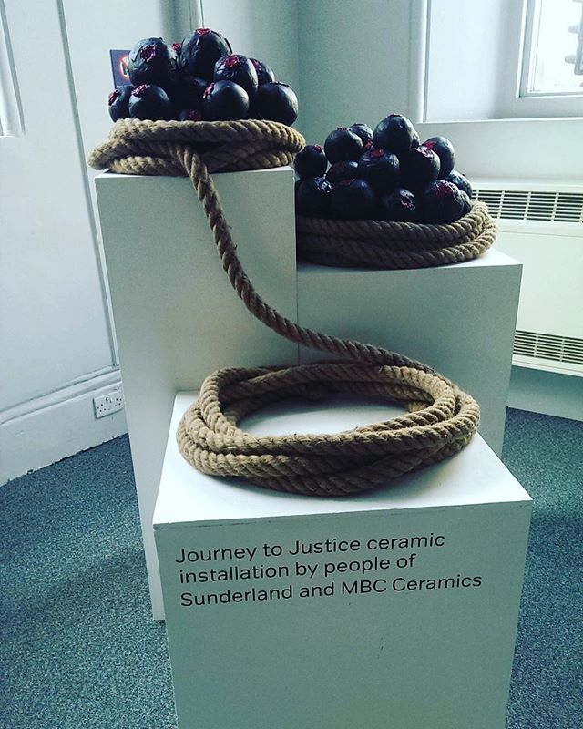 A fantastic local addition to the JtoJ exhibition in Sunderland. Cannot wait to unveil our local content in Nottingham soon.