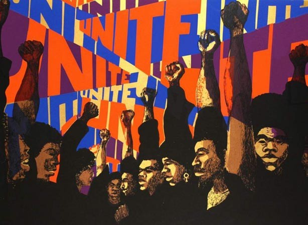 Image credit: Barbara Jones-Hogu, Unite, 1971. Screenprint on paper