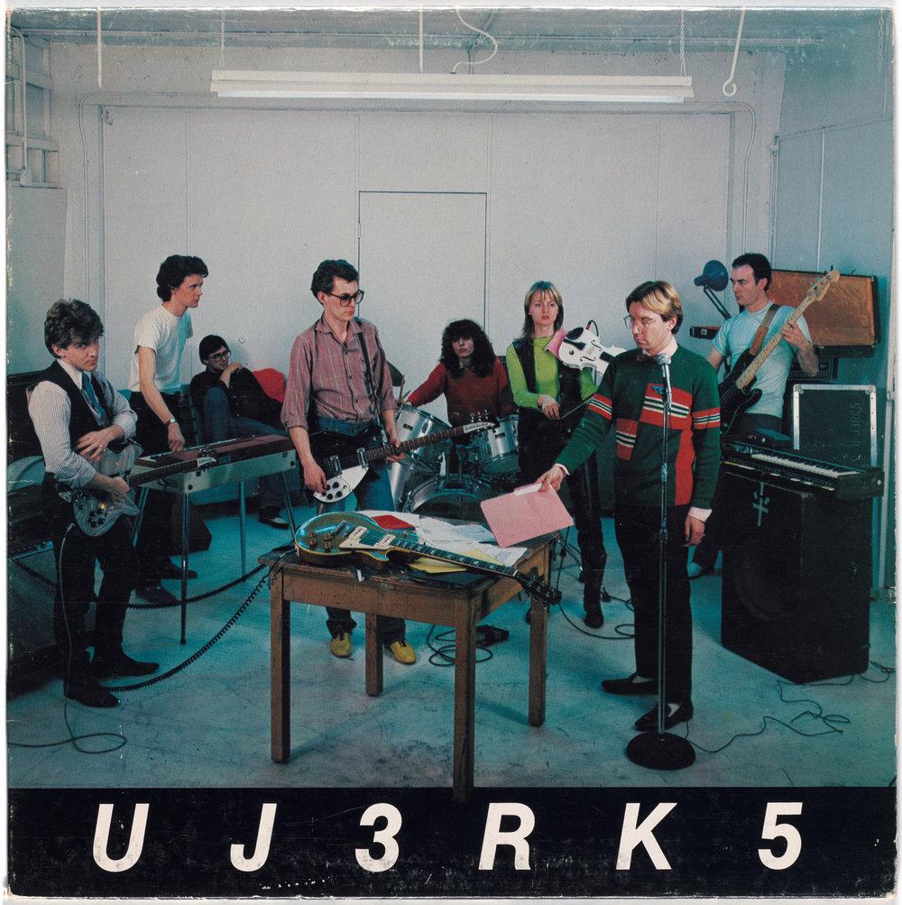 U-J3RK5 with Rodney Graham, Ian Wallace, Jeff Wall, Kitty Byrne, Colin Griffiths, Danice McLeod, Frank Ramirez, David Wisdom - UJ3RK5, 1980