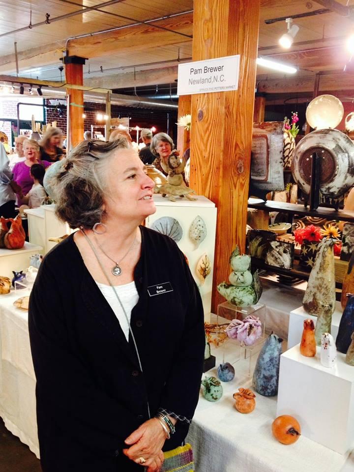 Spruce Pine Potters Market October 14-15, 2017   http://www.sprucepinepottersmarket.com/