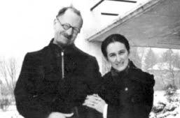André Trocmé et sa femme Magda