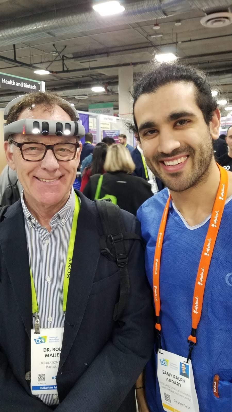 One of the many great Doctors we've met at CES2019